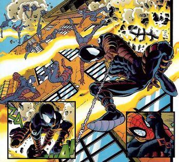 Spider-man Dodging Electro