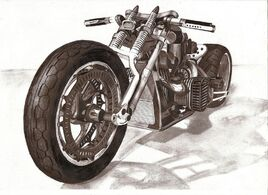 Motorcycle pencil by w0jtek1990