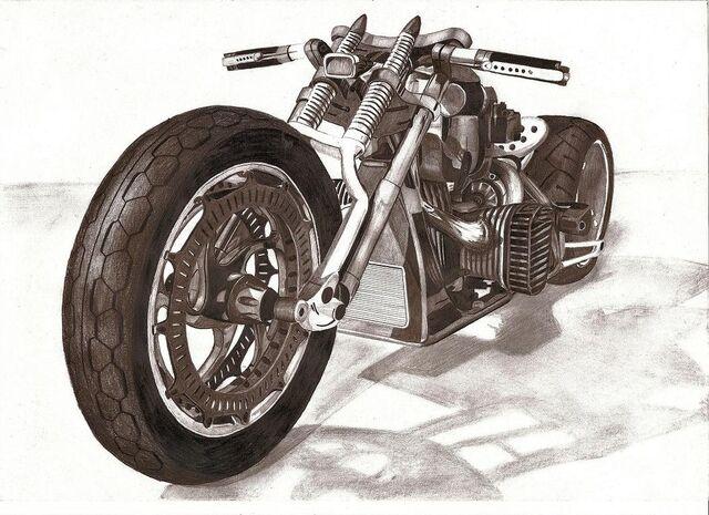 File:Motorcycle pencil by w0jtek1990.jpg