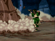 Toph Earth Bending