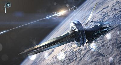 Attack starship