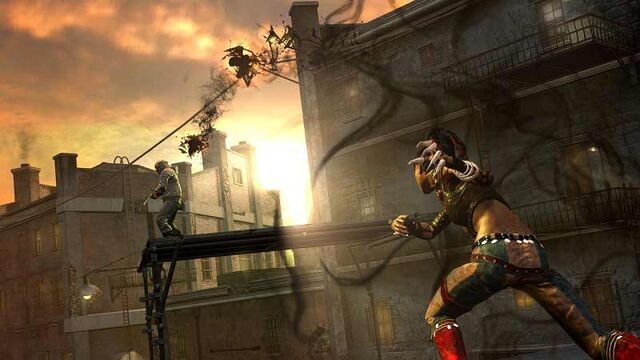 File:Nix (InFamous 2) throws her Napalm Grenade.jpg