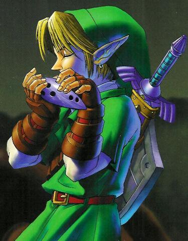 File:Link Ocarina.jpg
