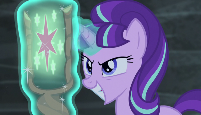 File:Starlight proud for taking Twilight's cutie mark S5E1.png