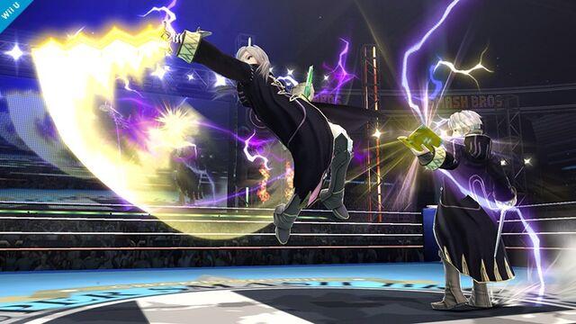 File:Female/Male Robin using Levin Sword lightning.jpg