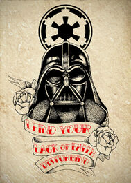 Darth vader tattoo commission by chronokhalil-d5kh7y1