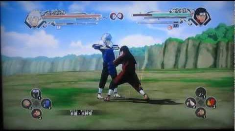 Naruto Shippuden Ultimate Ninja Storm Generations First Hokage vs The Second Hokage