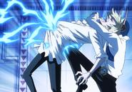 Niji kicks Sanji