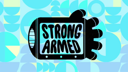 Strong-Armed episode title card
