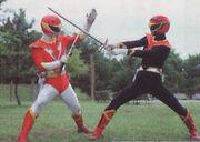Red Hawk vs. Shadow Red Hawk