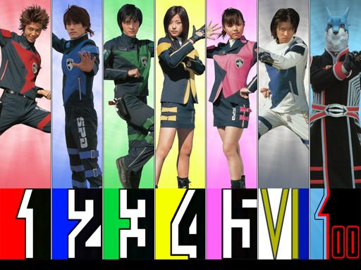 File:Dekarangers Uniforms.jpg