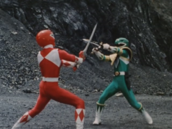 MMPR Duel JasonvsTommy