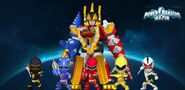 Power Rangers Dino Thunder in Power Rangers Dash