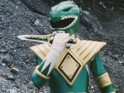 MMPR DragonShield green