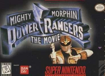 mighty morphin power rangers the movie video game