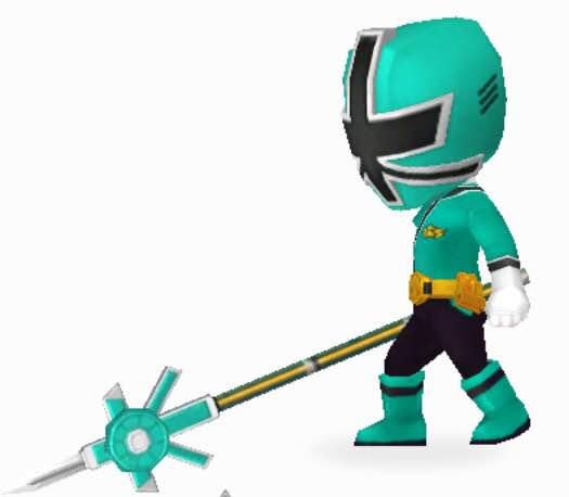 File:Green Samurai Ranger In Power Rangers Dash.jpg