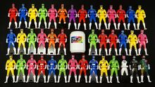 All Toqger Ranger Keys