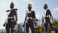 Black Gokai Change