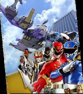 Gosei Jet Megazord Madness