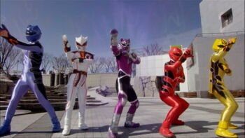 Spirit of the tiger rangerwiki fandom powered by wikia - Power rangers megaforce jungle fury ...