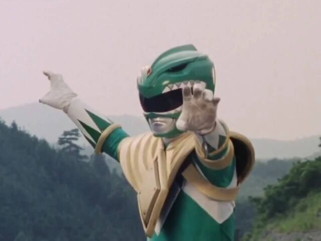 File:Mighty Morphin Green Ranger Pose.jpeg