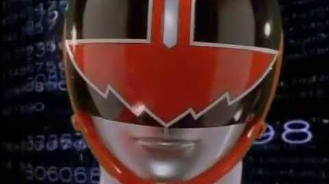 Power Rangers Time Force - Quantum Ranger Morph