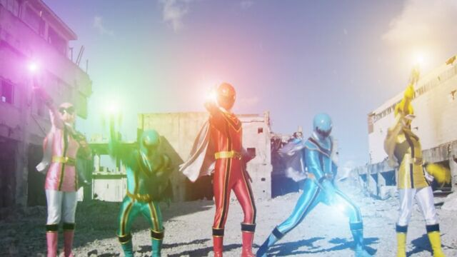 File:Super Mega Rangers as Mystic Rangers.jpg