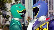 Fake Kyoryu Green in Brave 7