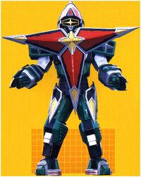 Samurai Star Megazord Power Rangers Ninja Storm