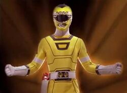 Yellow Turbo Ranger