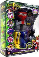 Dino Megazord box