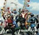 Turboranger Stage Show at Super Hero Korakuen Yuenchi