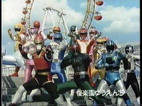 File:Turboranger with Kamen Rider Black RX, Jiban, Jiraya, Red Falcon, Yellow Lion, Red Mask, Pink Mask, Green Flash & Change Dragon.jpg