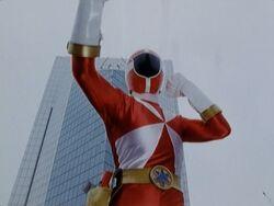 LR Red Lightspeed Ranger