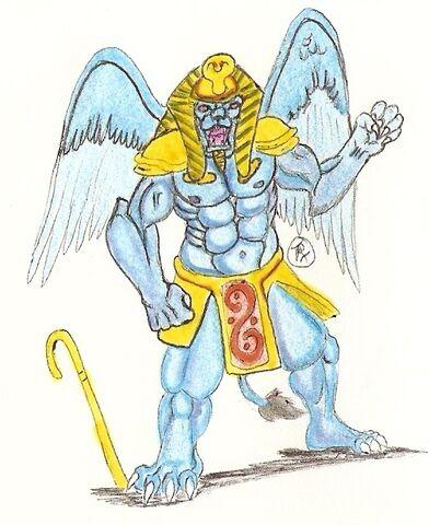 File:Ranger Revamp King Sphinx by kaijulord21.jpg