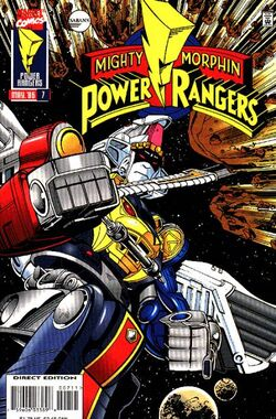 Marvel's MMPR Vol 1 Issue 7