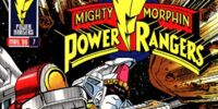 Mighty Morphin Power Rangers (Marvel) Vol. 1 Issue 7