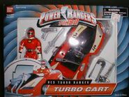 Red Turbo Ranger Turbo Cart