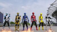 Go-Busters and Gavan Type G