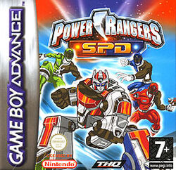 Power Rangers SPD (video game)