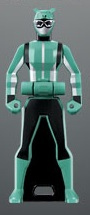 Green Hippopotamus Ranger Key