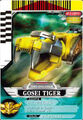 Gosei Tiger card
