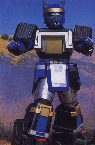 Blue wolf zord - photo#11