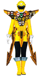 Gokai-yellowgold