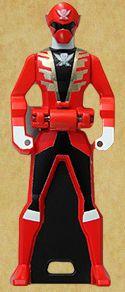 Gokai Red Ranger Key