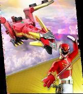 Red Dragon Mechazord Megazord Madness