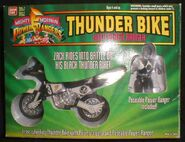 Thunder Bike with Black Ranger