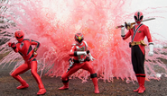 Geki, Go-On, & Shinken Red