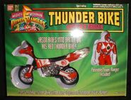 Thunder Bike with Red Ranger