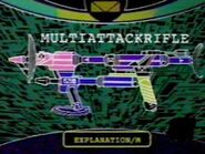 Multi-Attack Rifle Specs